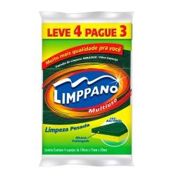 Esponja Limppano Mult Uso Lv4 Pg3 Limp P