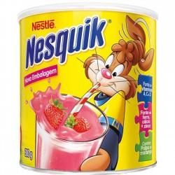 Nesquik Nestle Lata 380gr Morango