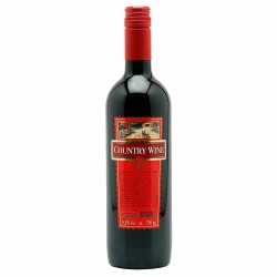 Vinho Country Wine 750ml Tinto Suave