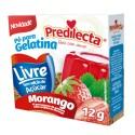 Gelatina Pó Predilecta Zero 12Gr Morango