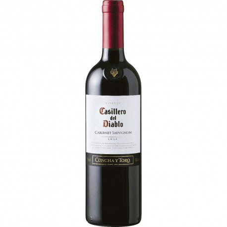 Vinho Casilero Del Diablo 750ml Cabernet