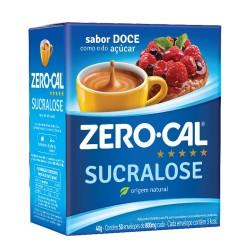 Adocante em Po Zero Cal  40gr Sucralose