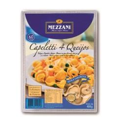 Massa Capeletti Mezzani 400gr 4 Queijos
