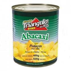 Abacaxi em Calda Triangulo 400gr Pedacos