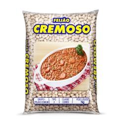 Feijao Caipira 1kg Cremoso Carioca