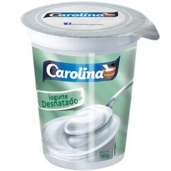 Iogurte Natural Carolina 160gr Desnatado