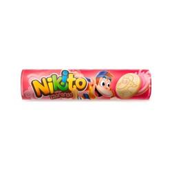 Biscoito Recheado Nikito 135gr Morango