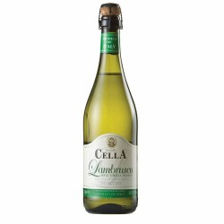 Vinho Lambrusco Cella 750ml Bianco