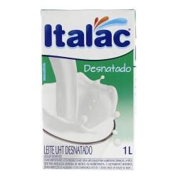 Leite Longa Vida Italac 1lt Desnatado