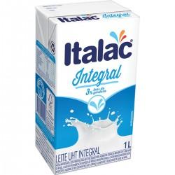 Leite Longa Vida Italac 1lt Integral