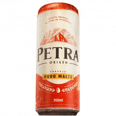 Cerveja Petra Puro Lata Malte 350ml