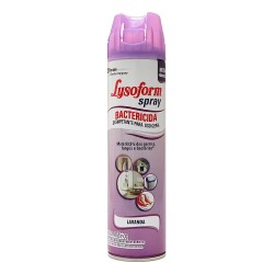 Desinfetante Spray Lysoform 360ml Lavand