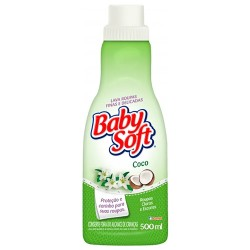 Lava Roupas Líquido Baby Soft 500ml Coco
