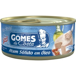 Atum Gomes da Costa Solido 170g Natural
