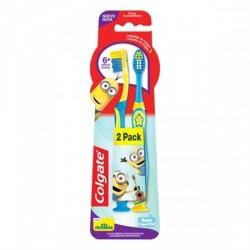 Escova Dental Infantil Colgate C/2 6+ Mi