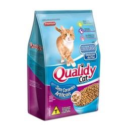 Ração P/ Gatos Qualidy 500gr Adulto Deli