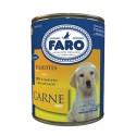 Alimento Para Cães Faro 280Gr Lata Filhote Carne