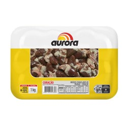 Coracao Frango Aurora Bdj 1kg