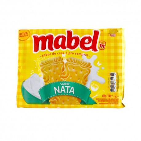 Biscoito Mabel 400gr Nata