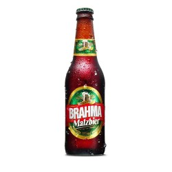 Cerveja Brahma Long Neck 355ml Malzebier