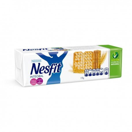 Biscoito Nesfit Nestle 170gr Integral
