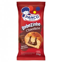 Mini Bolo Panco Bebezinho 70gr Chocolate