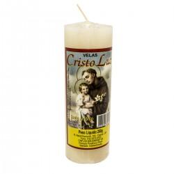 Velas Cristo Luz 260gr Santo Antonio