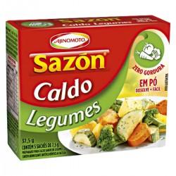 Caldo Sazon 37,5gr Legumes
