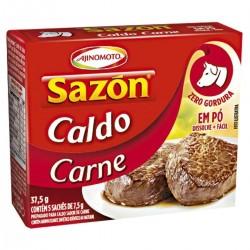 Caldo Sazon 37,5gr Carne