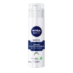 Espuma Barbear Nivea For Men 193gr Sensi