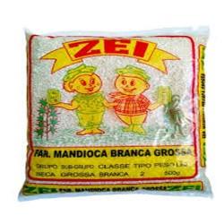 Farinha de Mandioca Zei 500gr Branco Gro