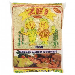Farinha de Mandioca Zei Torrada 500gr Bi