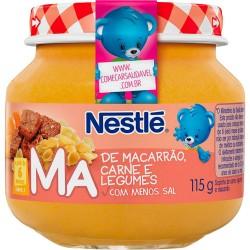 Papinha Nestle 115gr Macarrao Carne Legu