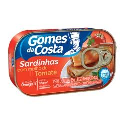 Sardinha Gomes Da Costa 250gr Molho Toma