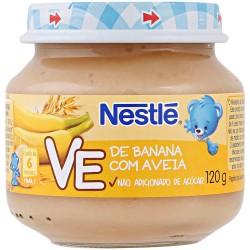 Papinha Nestle 120gr Banana e Aveia