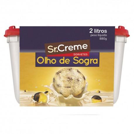 Sorvete Sr.Creme 2lt Olho De Sogra