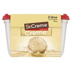 Sorvete Sr.Creme 2lt Creme