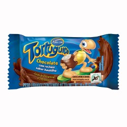 Chocolate Tortuguita Arcor 18gr Baunilha