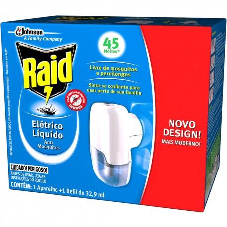 Repelente Raid Protecao 45 Noite Ap GrAt