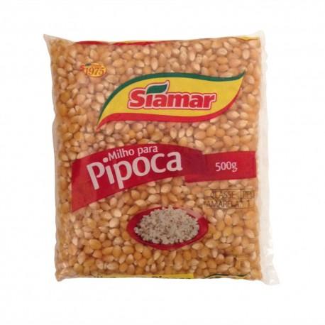 Milho Pipoca Siamar 500gr
