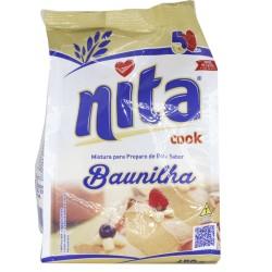 Mistura Bolo Nita 450gr Baunilha