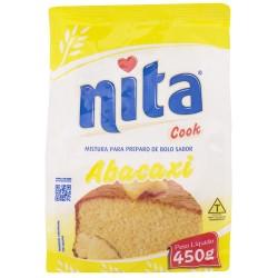 Mistura de  Bolo Nita 450gr Abacaxi