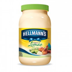 Maionese Hellmanns Pote 250gr Limao