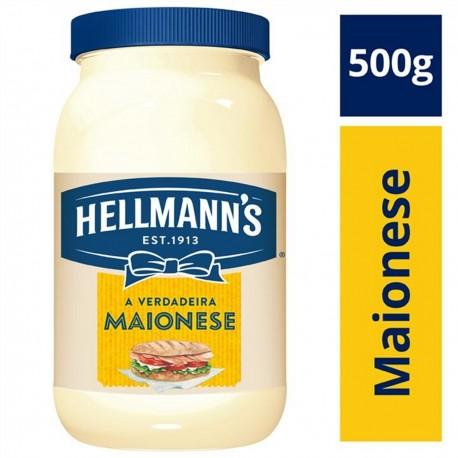 Maionese Tradicional Hellmanns Pote 500g