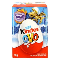 Chocolate Surpresa Kinder Ovo 20gr Velox