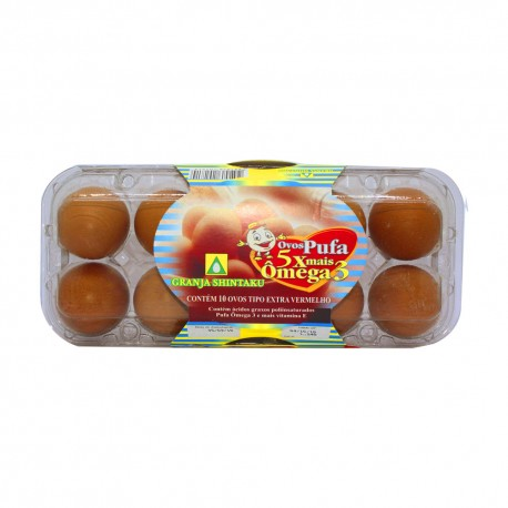 Ovos Pufa com 10un