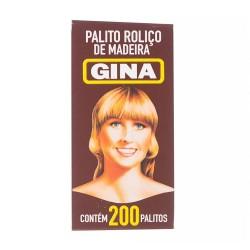 Palito de Madeira Gina com 200un