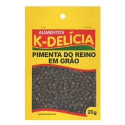 Pimenta Grao Reino K-Delicia 20gr