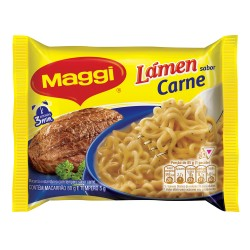 Macarrão Instantâneo Maggi 85gr Carne