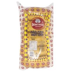 Pão Hot Dog Demetrius 500gr